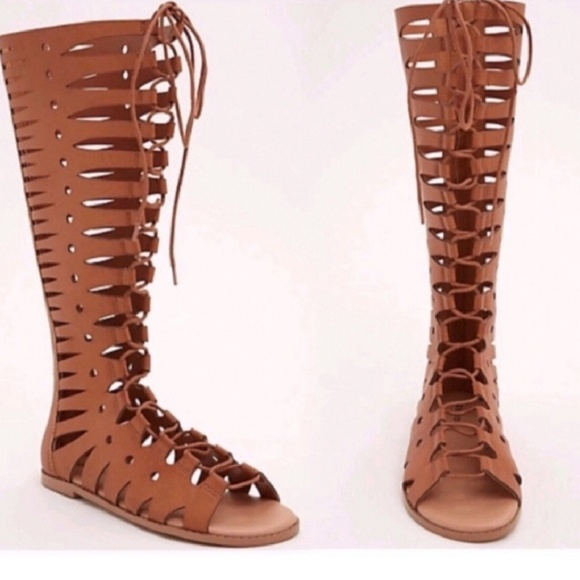 torrid Shoes   Tall Gladiator Sandals